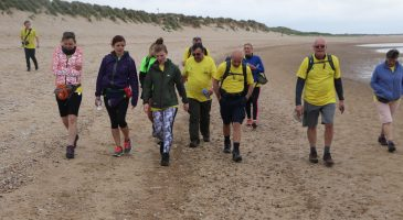 Fundraisers complete Coastal Challenge