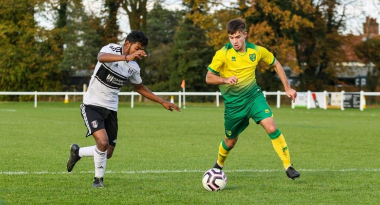 Player Norwich City CSF shadow squad