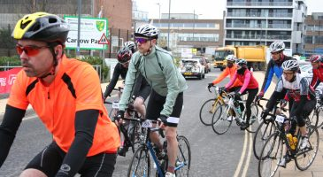 Cycle Swarm depart Norwich City Football Club