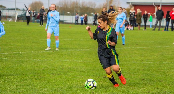 Girls take on Suffolk FA