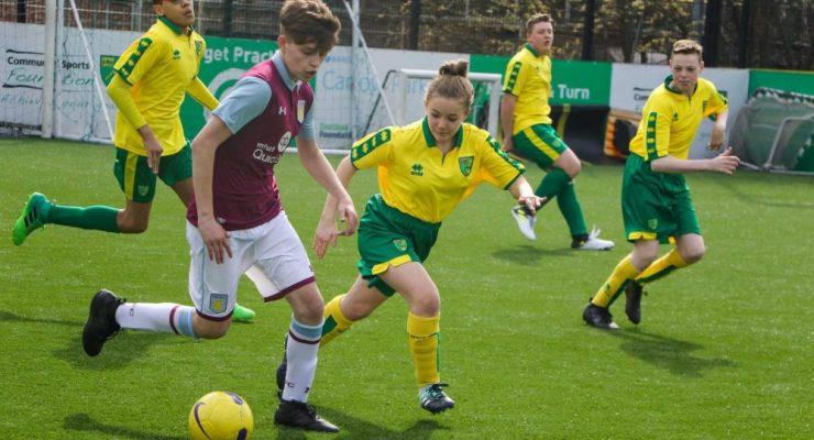 Norwich City v Aston Villla Pan squad
