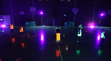 Glow in the dark at Denes