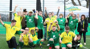 norwich city down's syndrome football team