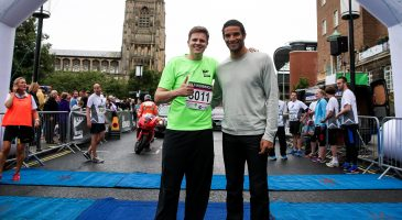Jake Humphrey & David James