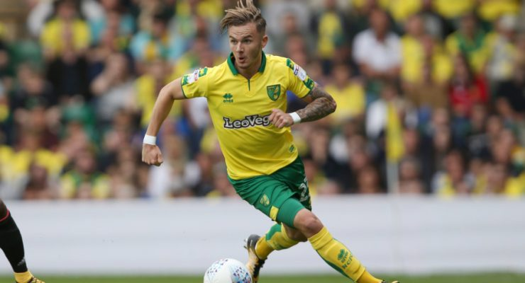 James Maddison in action for City