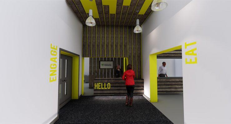 an entrance hall