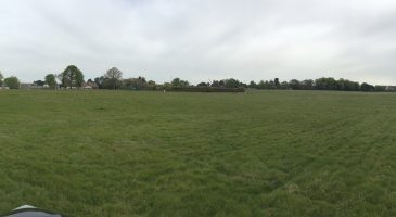 the disused pitches