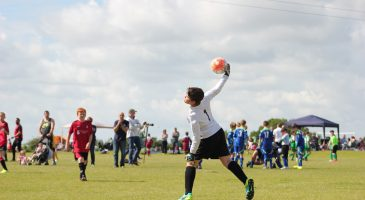 Goalkeeper at the Summer Cup