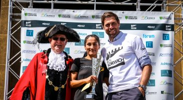 Grant Holt Emma Risbey Run Norwich 2017