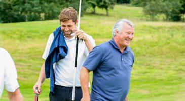 Dean Ashton Golf Day Grant Holt