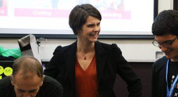 Chloe Smith MP meets NCS participants