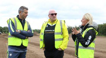 Francesco Toldo & Bryan Gunn at the Nest site