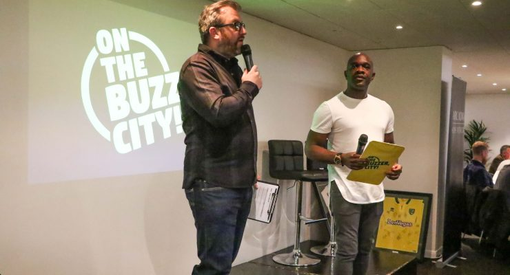 OTBC quiz hosts Rob Butler and Adrian Forbes