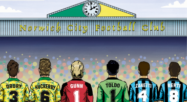 New for 2018: Norwich City Legends vs Inter Forever