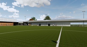 The 3G 11-a-side pitch The Nest