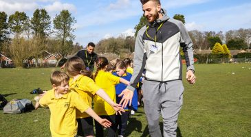 City duo surprise pupils