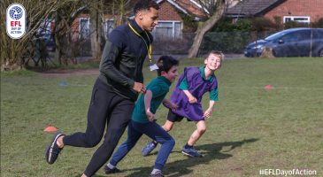 Clubs unite for EFL Day of Action