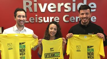 Riverside Leisure Centre supporting #TeamCSF runners with free sessions