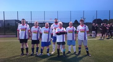 CSF partner up with Man v Fat Football