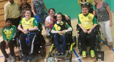 City Powerchair team promoted after unbeaten season