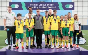 Premier League and BT Disability Football Festival 16th JULY 2018