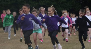 Schoolchildren raise £6,500 in sponsored run