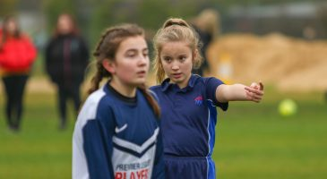 U13s player gives direction