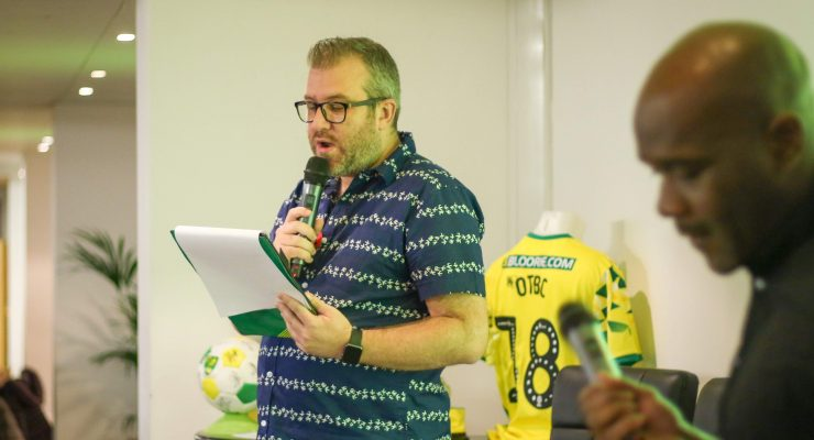 OTBC quiz host Rob Butler