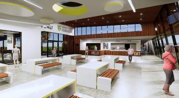 The Nest reception area