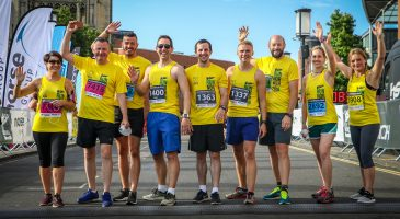 The team from Riverside Leisure Centre at Run Norwich 2018