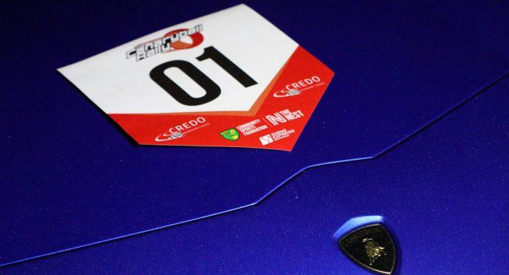 Rally car sticker
