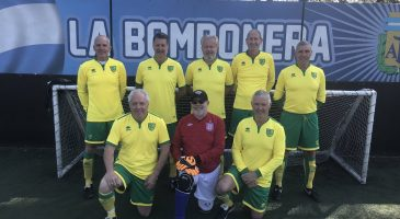 Walking football team to represent England