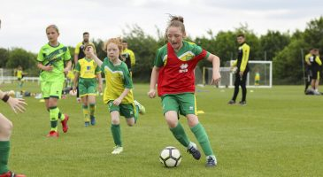 Trial for the Girls' programme (U8-U10s) to take place in September