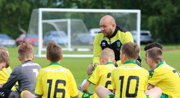 Foundation recruiting for part-time football coaches