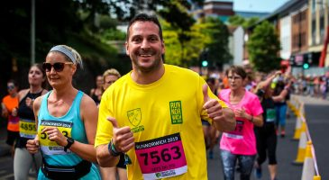 #TeamCSF runners raise over £60,000 for Foundation