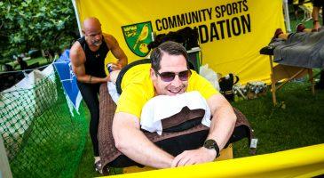 Community Sports Foundation runner