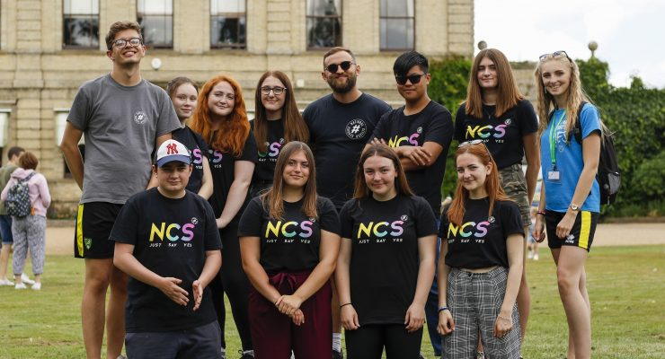 NCS team leader with care home resident