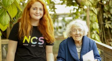 NCS group assist care home residents on wildlife park visit