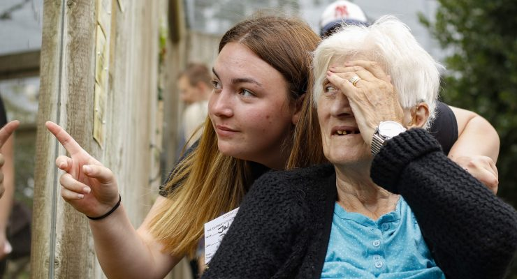 NCS participant with care home resident