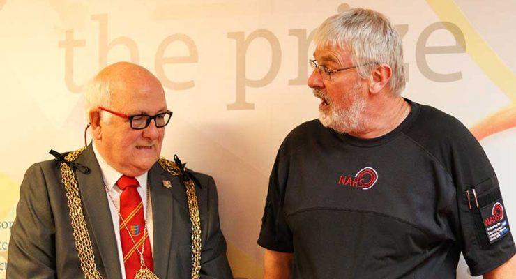Mayor with NARS