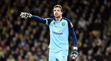 Tim Krul Norwich City build the nest