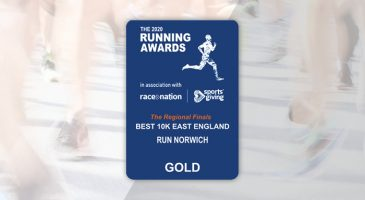 Foundation's Run Norwich event voted as best 10k in East of England