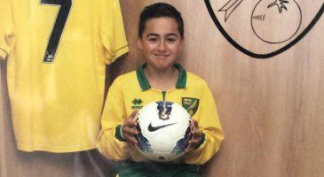 Aedan Oliver Norwich City FC Academy