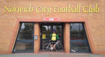 City fan takes on 5,000 mile cycle challenge for Foundation