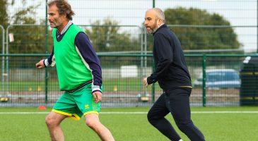 Rob Butler walking football bbc Norfolk