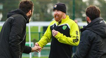 Iwan Roberts walking football