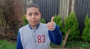 Primary Stars inspires young David