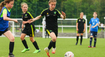 Sign up to our open Girls' Football Festival
