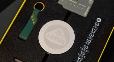 Accessories for Lotus Elise Final Edition, donated by Lotus to the Community Sports Foundation