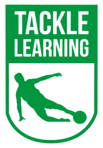 The Tackle Learning logo, adult course from Community Sports Foundation